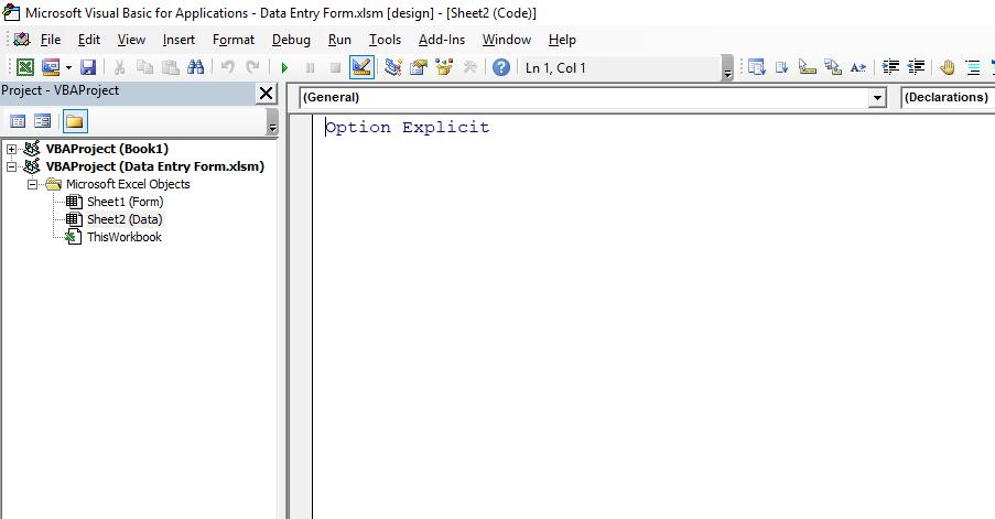 Label Control Visual Basic