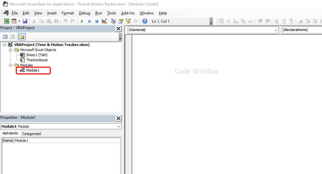 Module Window